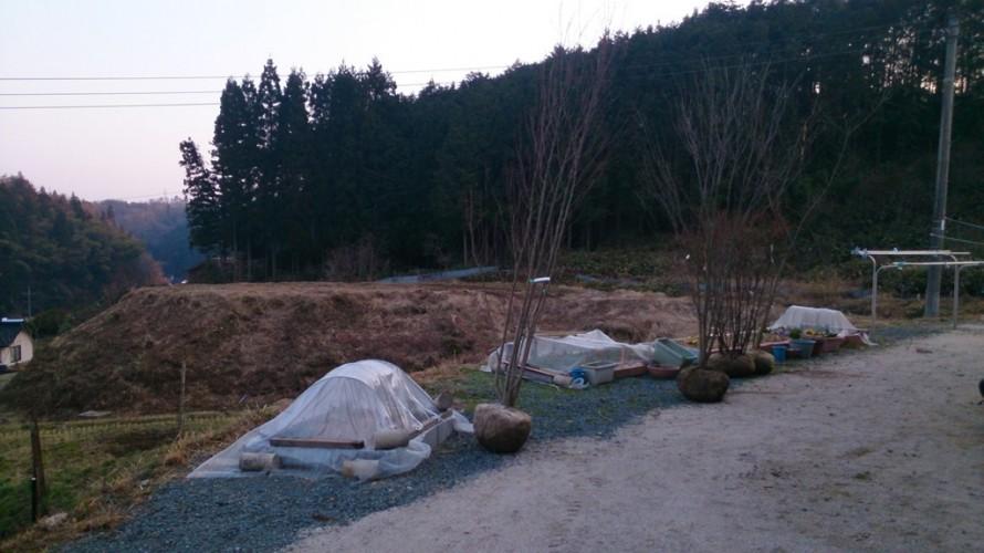 岩根の杜「心落ち着く庭空間」施工前