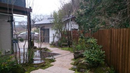高橋の杜「四季を通して楽しむ庭空間」施工後