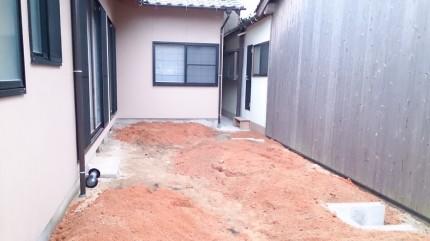 大澤の杜「四季を感じられる庭空間」大澤邸 土壌改良完成