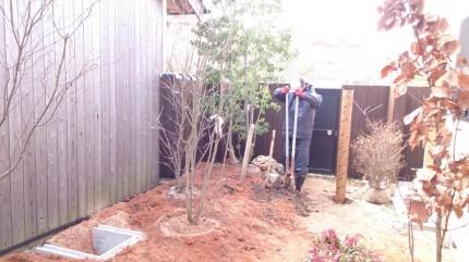 大澤の杜「四季を感じられる庭空間」大澤邸 扉隠し