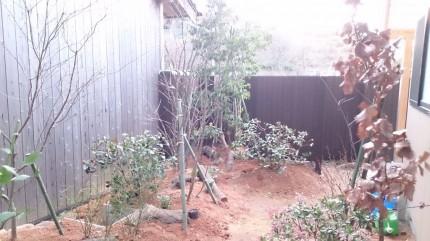 大澤の杜「四季を感じられる庭空間」大澤邸 マウンド装飾