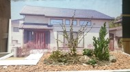 土肥邸 土肥の杜「家族で楽しむ庭空間」の提案模型