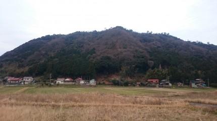 島根県大田市にある我が家の裏山
