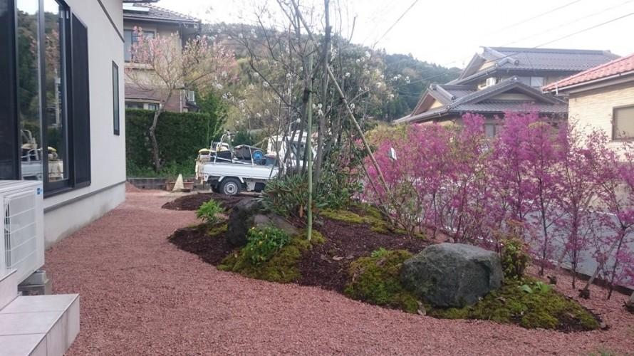 土肥邸 土肥の杜「家族で楽しむ庭空間」完成