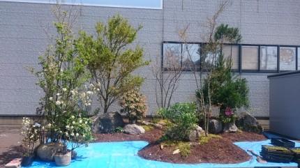 イタケンリビングフェア イタケンの杜「新緑の息吹を感じる庭」